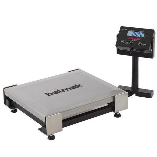 Balança Digital Checkout Plataforma Com Prato INMETRO 30Kg BCK-30PB Balmak