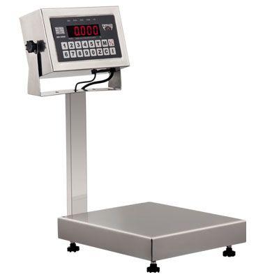 Balança Digital Plataforma Inox 430 Sem Bateria 50Kg Bivolt DP50 Ramuza
