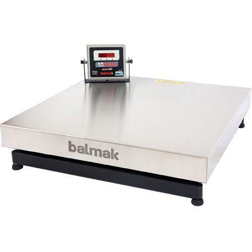Balança Plataforma Inox 150Kg INMETRO BK-50I Balmak
