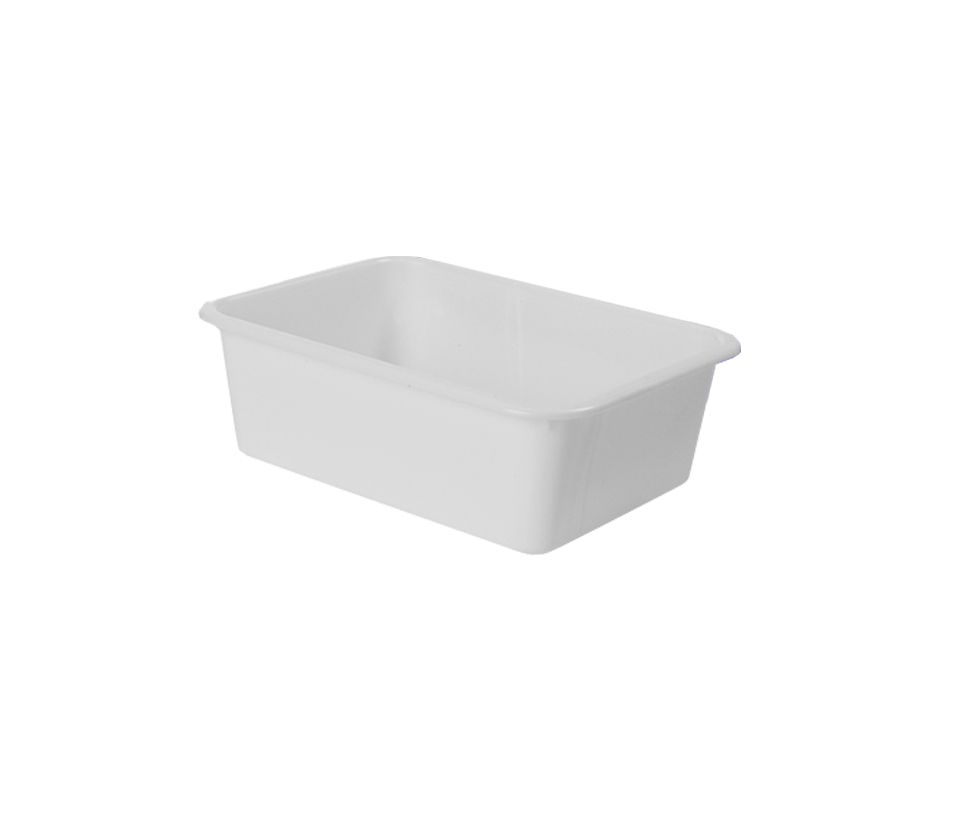 Bandeja Plástica Organizadora Multiuso Della Plast 5 Litros Branca