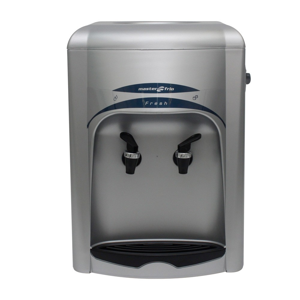 Bebedouro Compacto Masterfrio Fresh Inox/Prata 220v