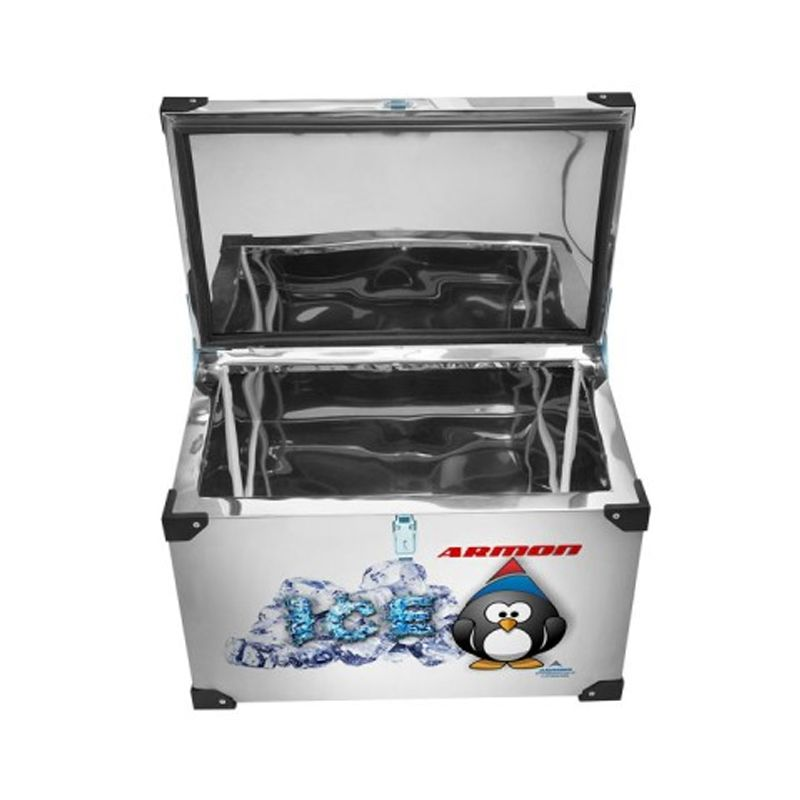 Caixa Térmica Armon 140 Litros Inox Interno e Externo