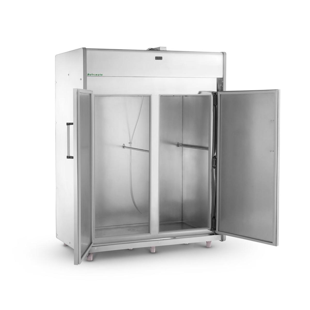 Câmara Fria Refrimate Plus 1800 Litros para Resfriados Inox 2 Portas 220V