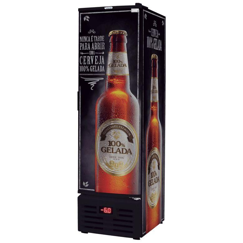 Cervejeira Fricon Vertical 284 Litros Frost Free 1 Porta 220 V