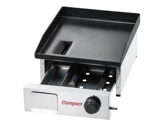 Chapa Bifeteira Compact Cold Slim CBS40 1 Queimador 40x50 cm Baixa Pressão GLP