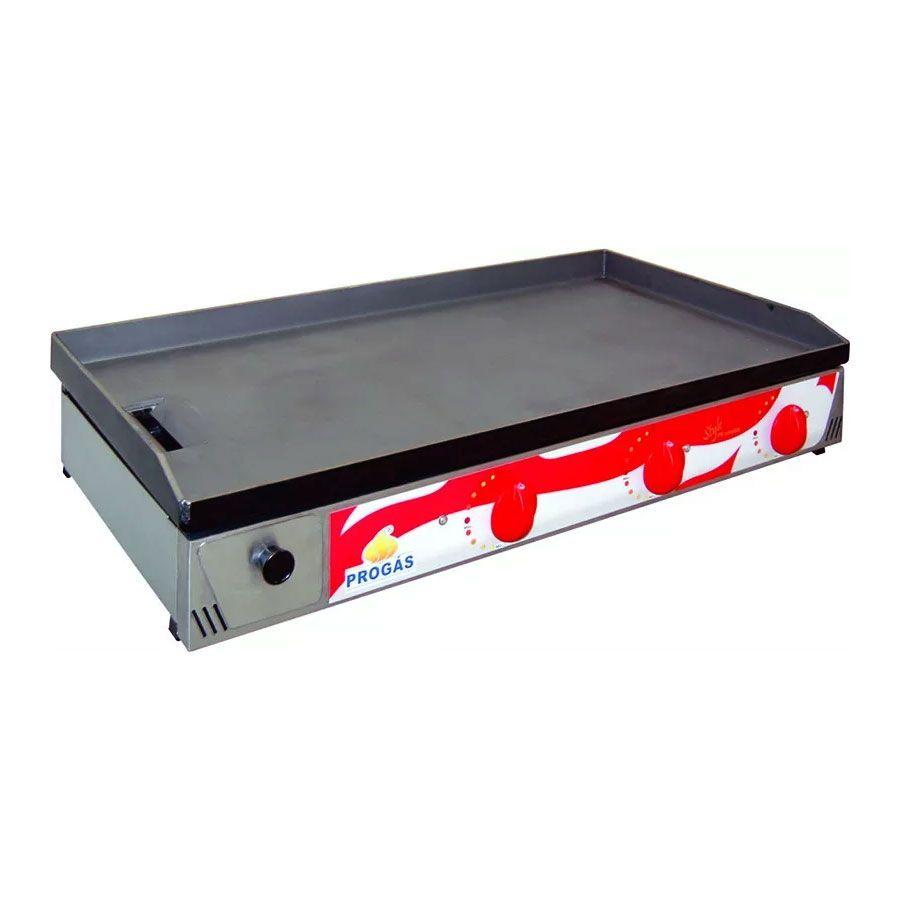 Chapa Progás a Gás Inox Escovado PR-1000G