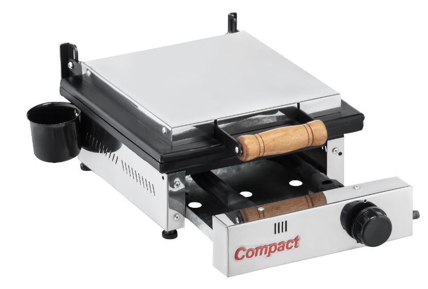 Chapa Sanduicheira Prensa Gás GLP 1 Queimador Baixa Pressão SG-30 Cold Compact