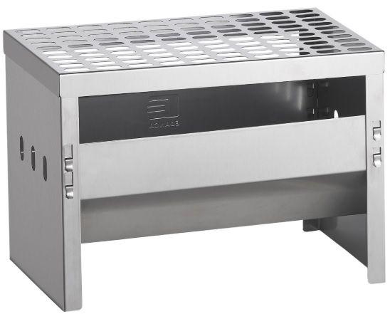 Churrasqueira Desmontável 100% Inoxidável Carvão Compact Grill Edanca