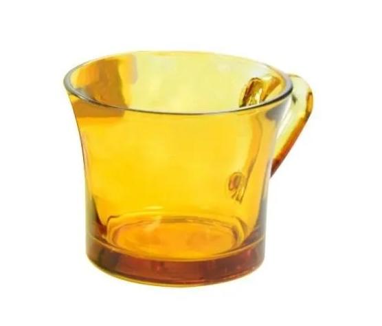 Conjunto com 6 Xícaras Em Vidro Grande 210 ml Ambar Fratelli 16x10