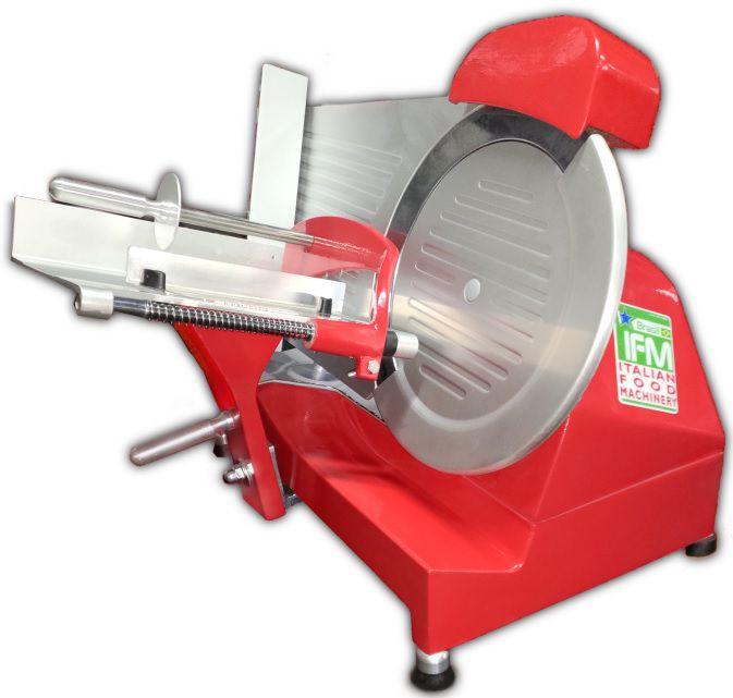 Cortador De Frios Inclinado Vermelho Base Alumínio INMETRO Bivolt CFI-250 IFM Brasil