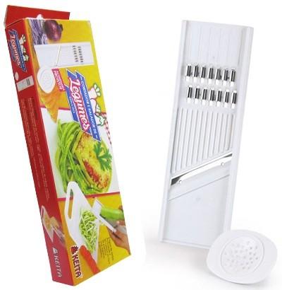 Cortador e Ralador Plástico Para Legumes Lamina Inox CR01 Keita