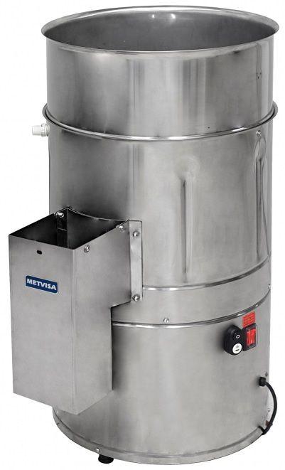 Descascador De Batatas Cebola Alho Inox 10Kg 220v DB10 Metvisa