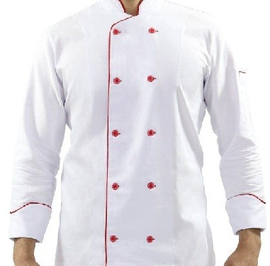 Dolma Em Algodão Branco Friso Vermelho Tam P RSPan