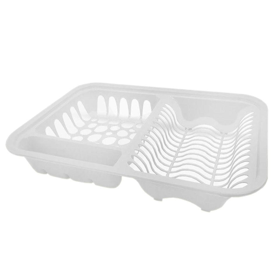 Escorredor Plástico De Louça Pratos Arca Plast New Branco