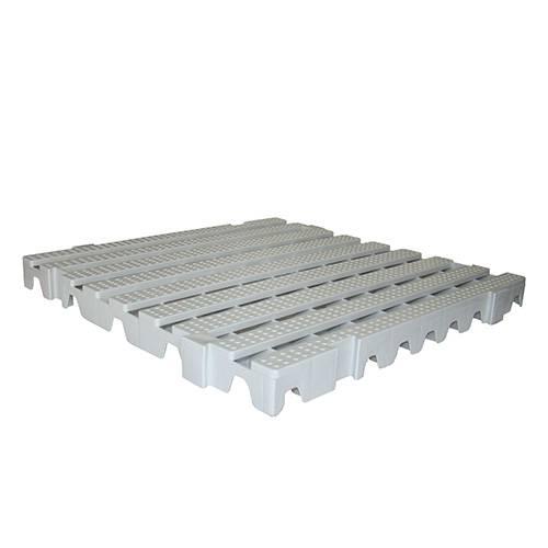 Estrado Della Plast Branco Gelo 50x50x4,5cm