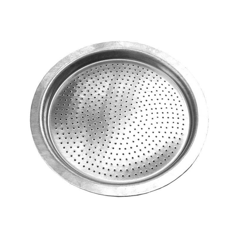 Filtro De Reposição Para Cafeteira Italiana Em Aço Haline 6 Xícaras Ke Home