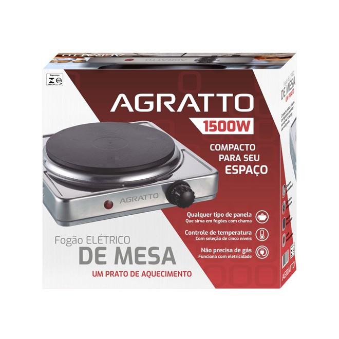 Fogão Elétrico De Mesa 1Queimador 220v FMAY-02 Agratto