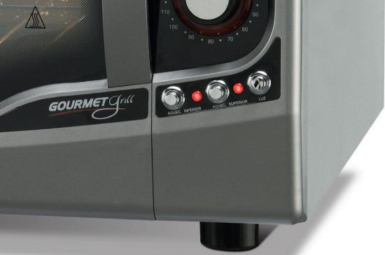 Forno Elétrico Fischer Gourmet Grill de Bancada 44 litros 220v