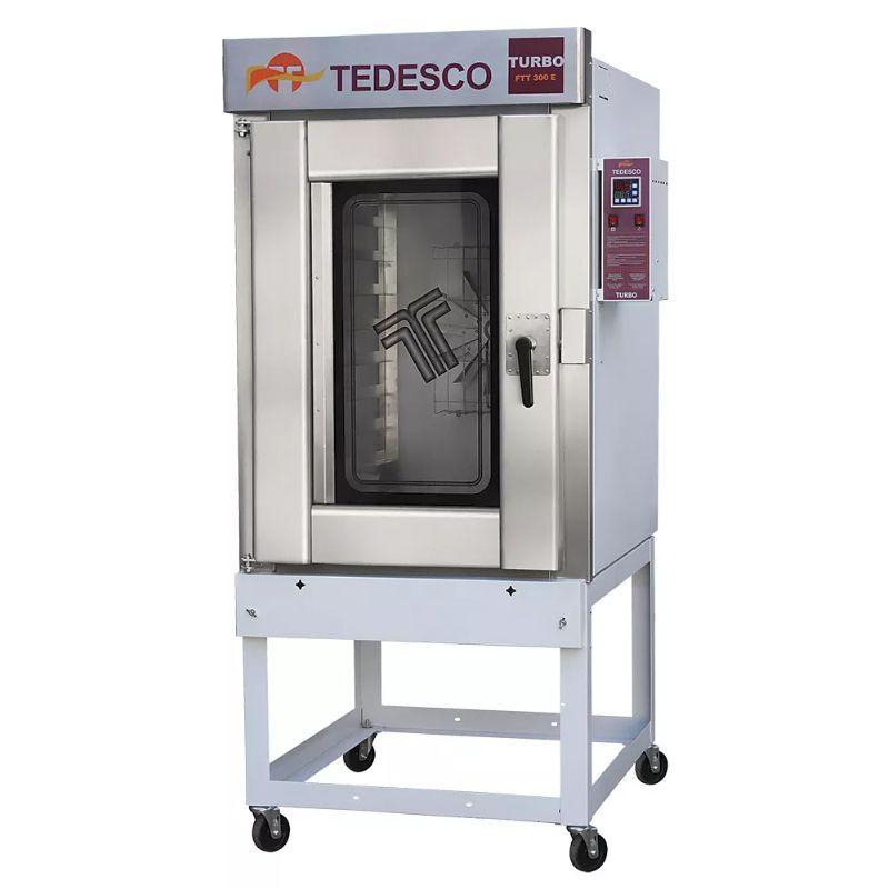 Forno Industrial Tedesco Turbo Elétrico FTT-300E 10 Telas Trifásico