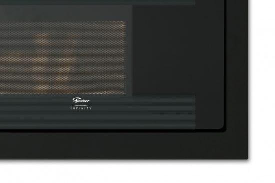 Forno Micro-ondas De Embutir 25 Litros 220V Dourador Preto Infinity Fischer