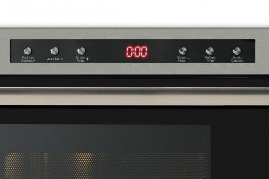 Forno Micro-ondas Fischer Embutir 25 Litros com Dourador 220v