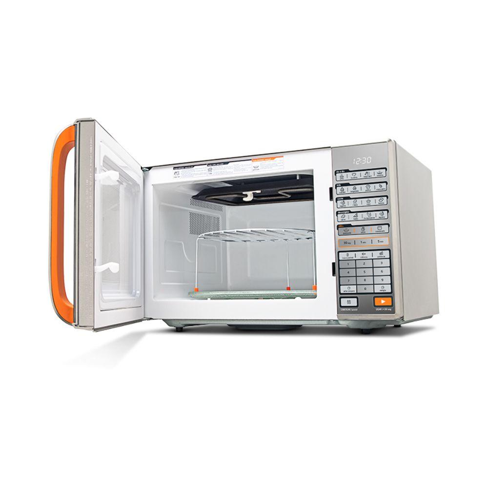 Forno Midea Micro-ondas Espelhado Grill 30 Litros 220V