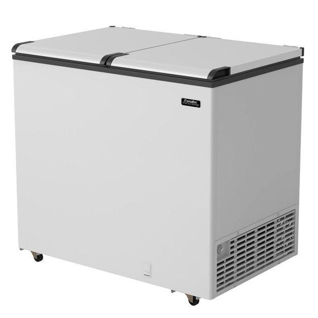 Freezer Horizontal Esmaltec EFH350 2 Portas Branco 350 Litros