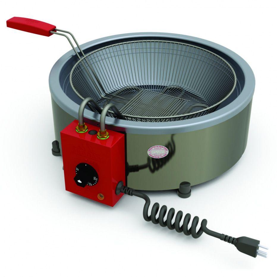 Fritador Elétrico Progás Inox 7 Litros com 1 Cesto PR-70E
