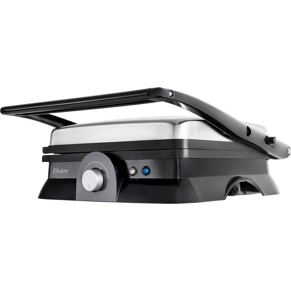 Grill Elétrico Multiuso Inox Oster OGRL210 230ºc 220V 1500W