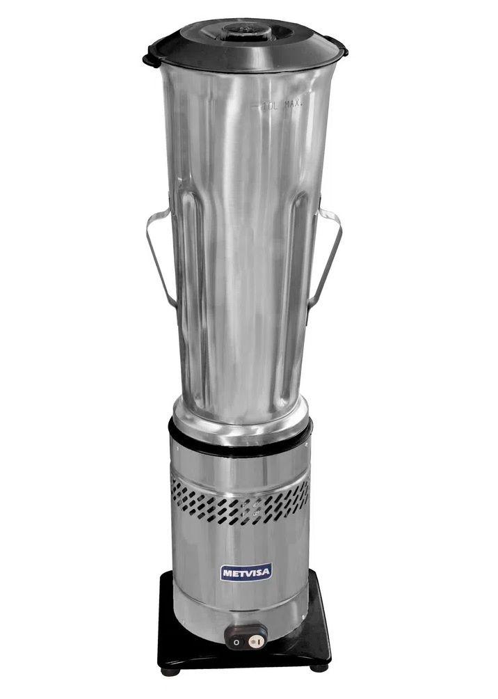 Liquidificador Comercial Baixa Rotação 10 Litros Inox 220v Metvisa
