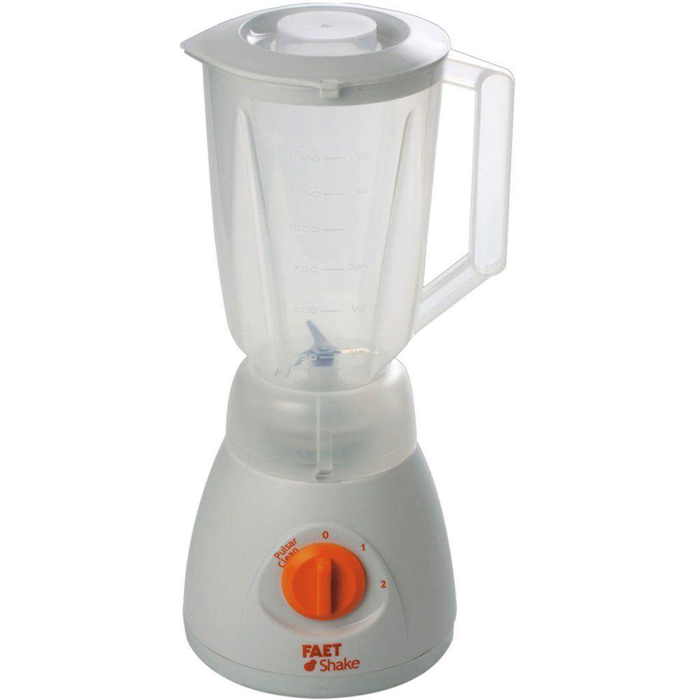 Liquidificador Faet Shake 1,5 litro Branco 2 velocidades 220v