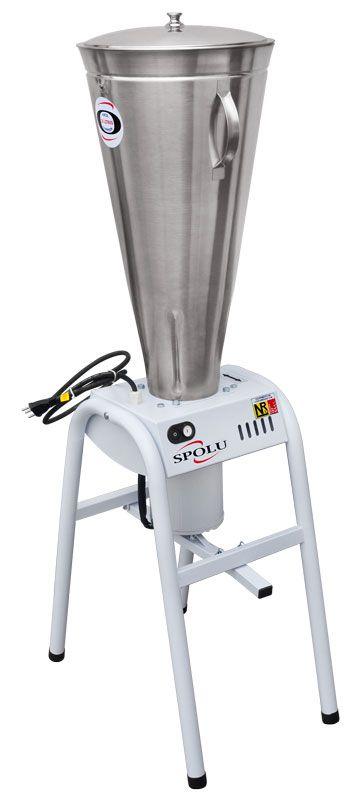 Liquidificador Industrial Basculante 127V NR12 Inmetro 25 Litros Inox SPL-067 Spolu