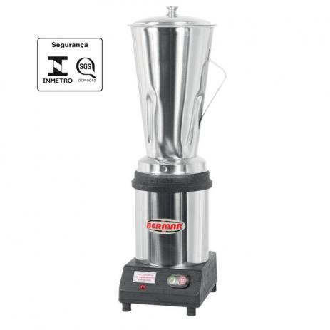 Liquidificador Industrial Bermar LB 4 litros Motor 1/2 Hp BM-31 NR