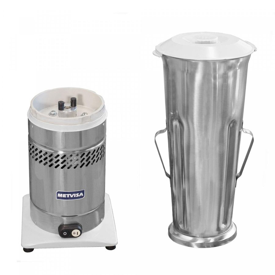 Liquidificador Industrial Metvisa 6 Litros Inox Bivolt