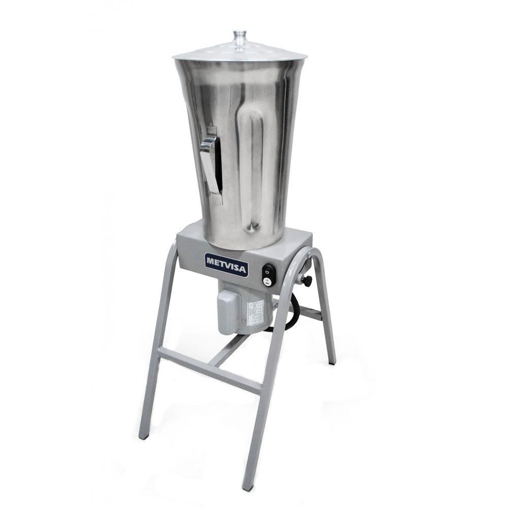 Liquidificador Industrial Metvisa Leve 19 Litros 220V Inox