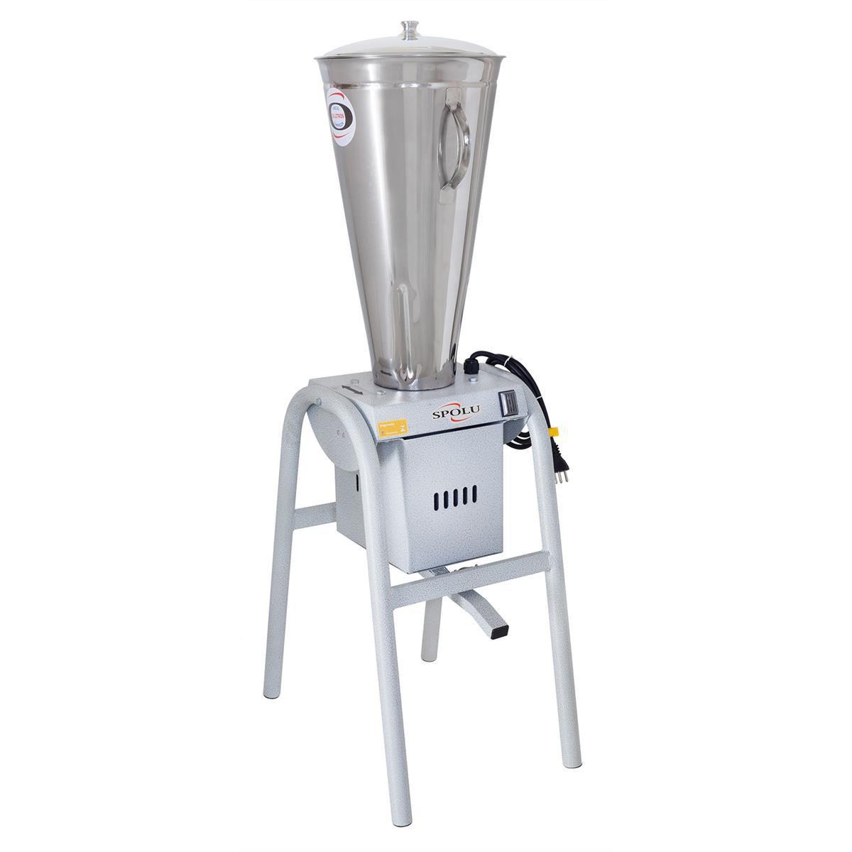 Liquidificador Industrial Spolu SPL-066 15 Litros Inox 220V