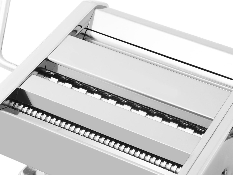 Máquina de Macarrão Hércules Inox Manual com Cabo Removível