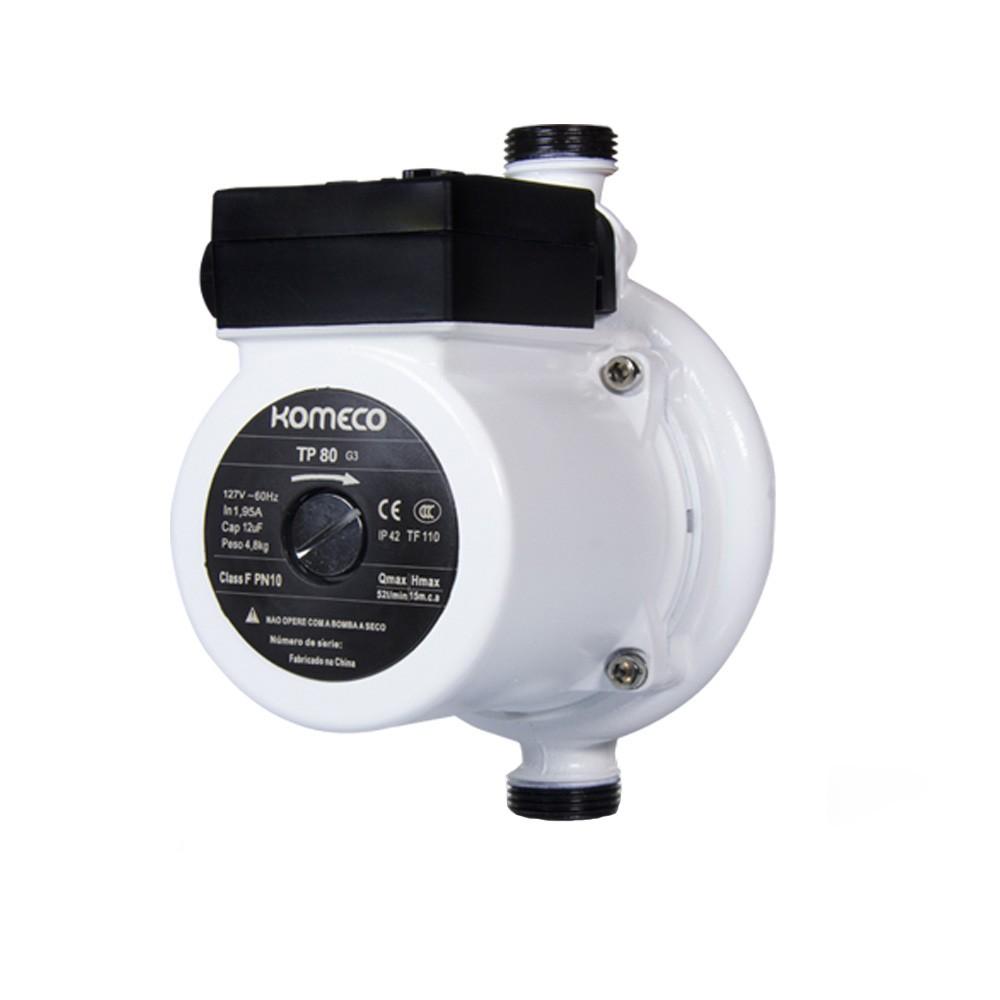Mini Bomba Pressurizadora Komeco TP 80 G3