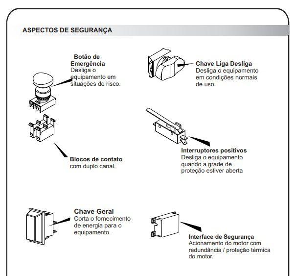 Misturador Para Massas Cozerella Bivolt NR12 Gás GLP Inmetro CZ37 G.Paniz