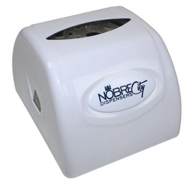 Porta Guardanapo Plástico Interfolhado Branco Nobre Goedert