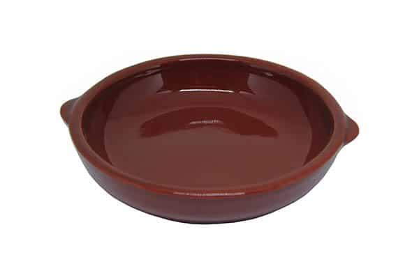 Prato Assadeira De Barro Refratário 18 cm Casserole