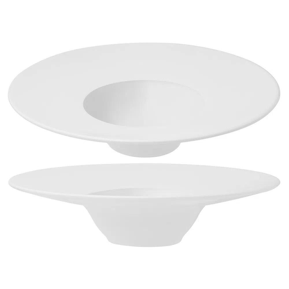 Prato De Entrada Em Porcelana 30,5cm White Oxford