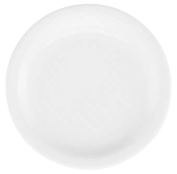 Prato Sobremesa Em Porcelana Redondo 20cm Pró Oxford