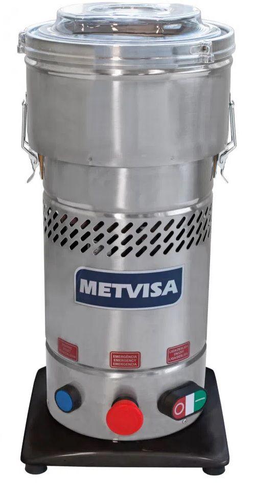 Processador Cutter Comercial 4 Litros 220V CUT4 Inox Metvisa