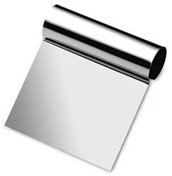 Raspador Espátula Em Aço Inoxidável Cabo Tubular Para Confeitos 12x9,5cm SOLRAC