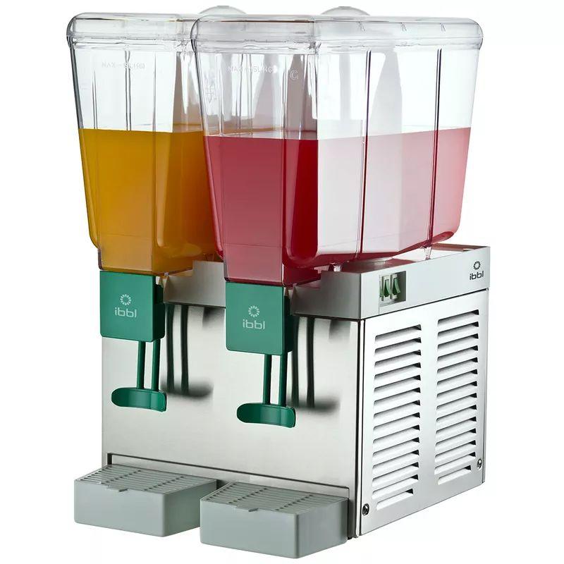 Refresqueira Refrigerada IBBL Inox 2 Cubas 30 Litros 220V
