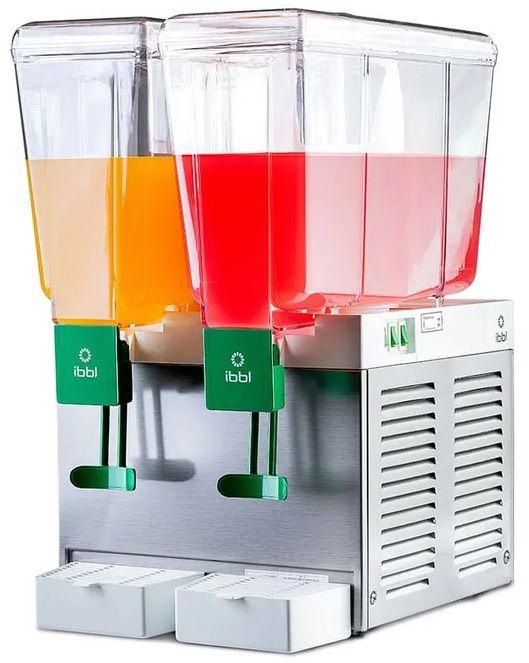 Refresqueira Refrigerada Inox 2 Cubas 30 Litros Inmetro 220V BBS2 IBBL