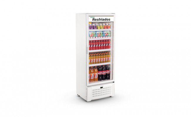 Refrigerador Expositor De Frios Vertical 220v Porta Vidro 410 Litros VCM410 Refrimate