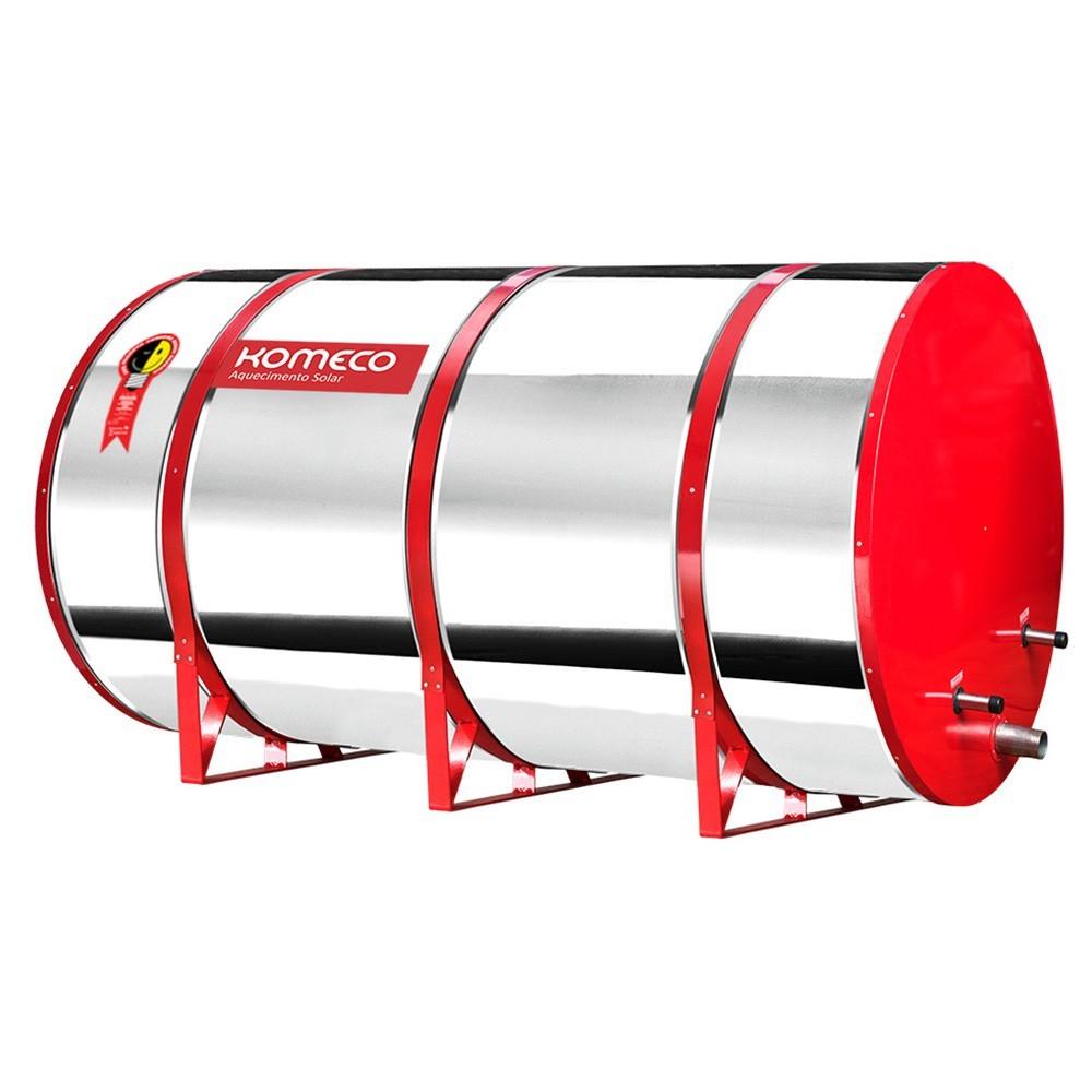 Reservatório Térmico (Boiler) Komeco 800 Litros Inox 316 Baixa Pressão Nível