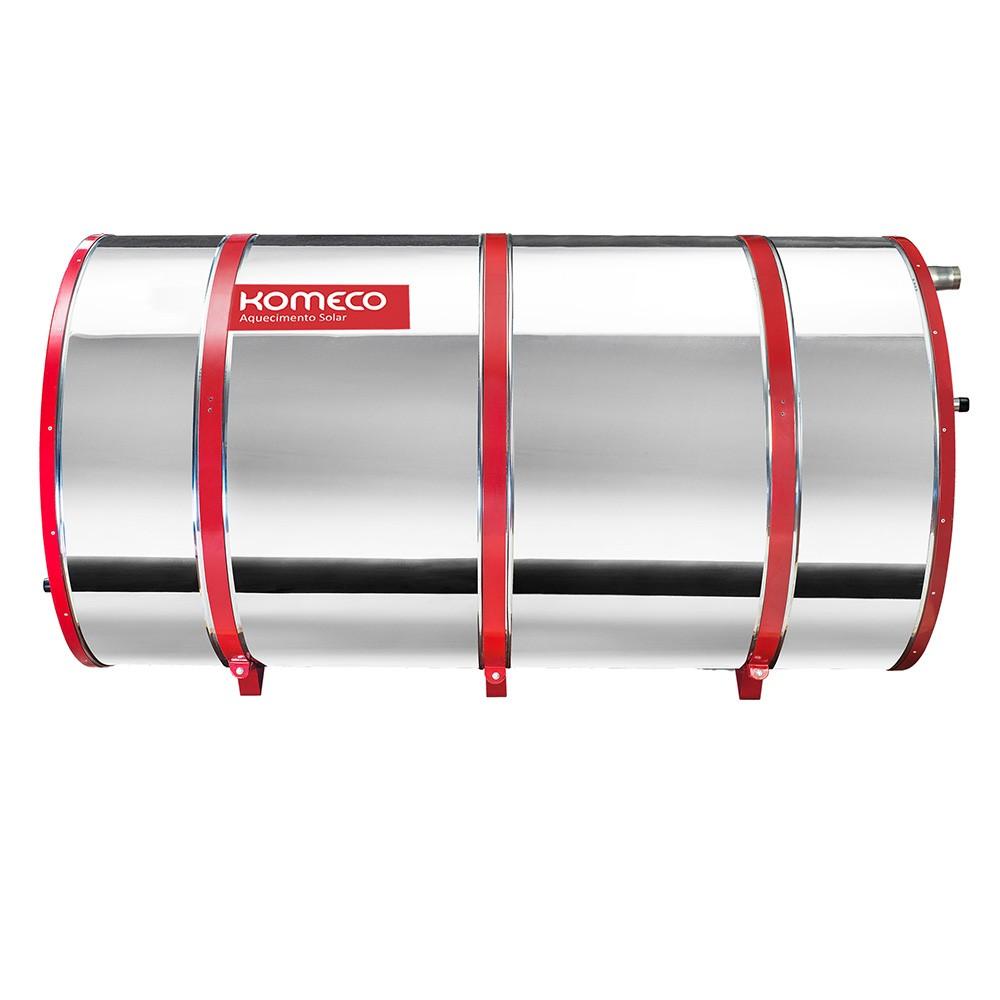 Reservatório Térmico (Boiler) Komeco 1000 Litros Inox 304 Baixa Pressão